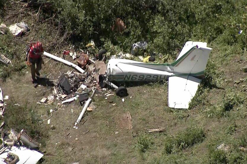 Крушение самолета сша, в сша разбился самолет