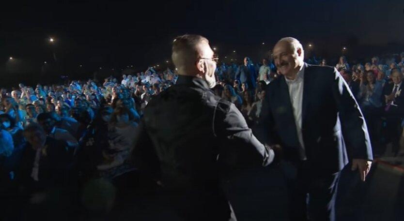 Серега и Лукашенко