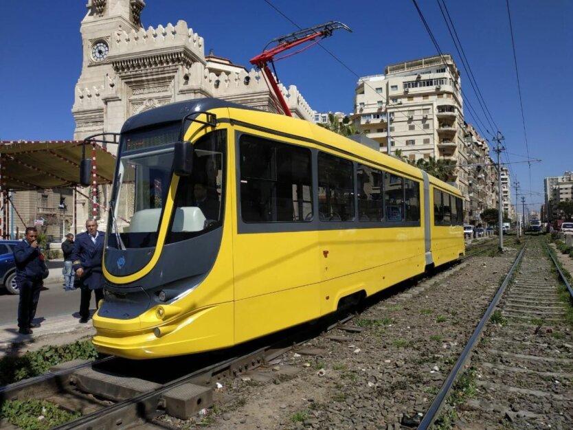 укр трамвай в Египте