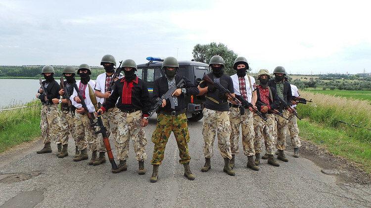 украинские военные правый сектор М