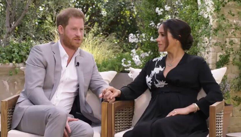 Принц Гарри и Меган Маркл, интервью Опре Уинфри, принц Уильям