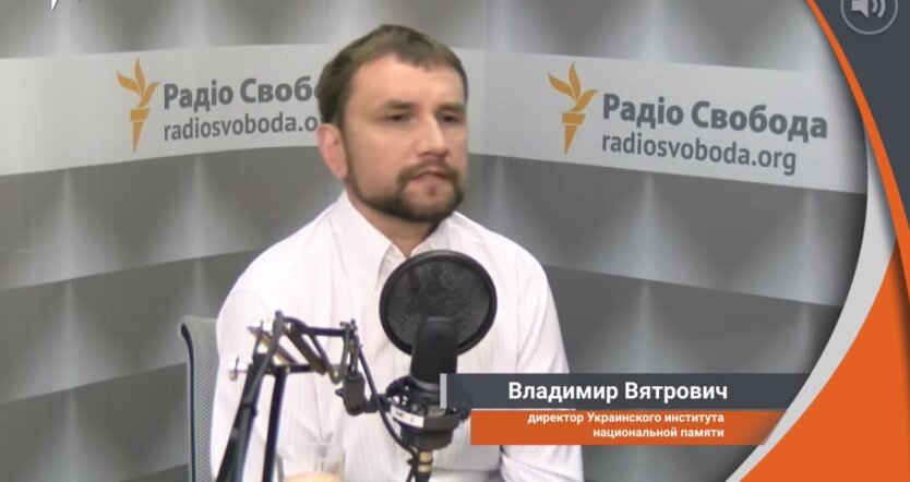 народный депутат от фракции «Европейская солидарность» Владимир Вятрович, госизмена Ермака и Кучмы