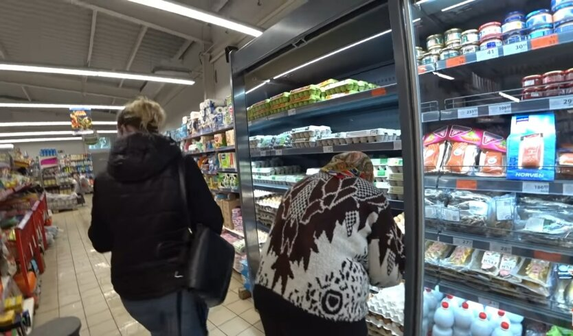 Продукты в Украине, цены на продукты, яйца