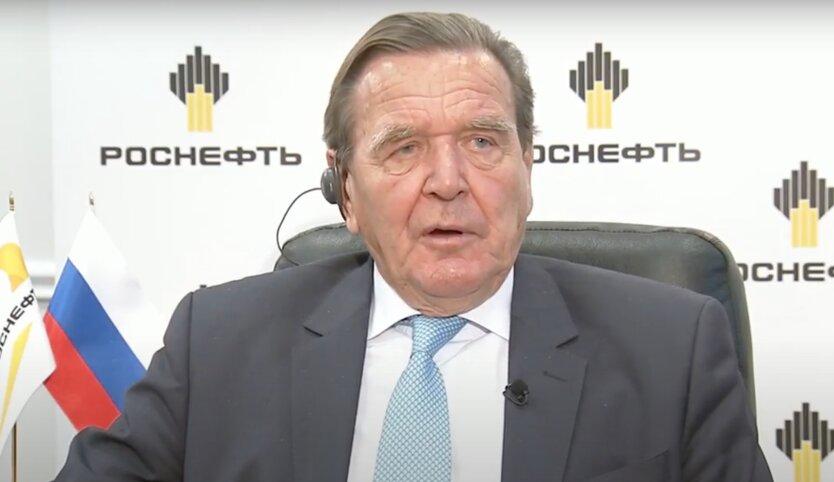 Герхард Шредер, роснефть, владимир путин, аннексия Крыма