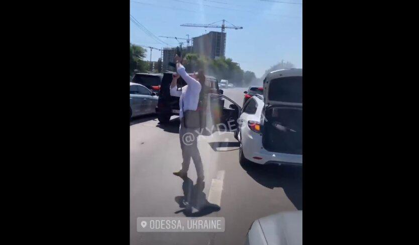 Стрельба под Одессой