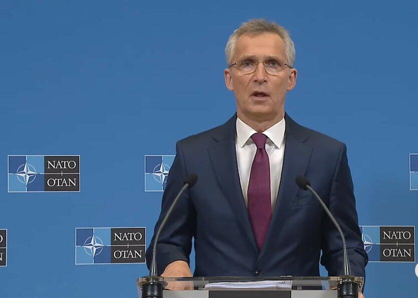 Йенс Столтенберг, вступление в НАТО, Грузия и Украина
