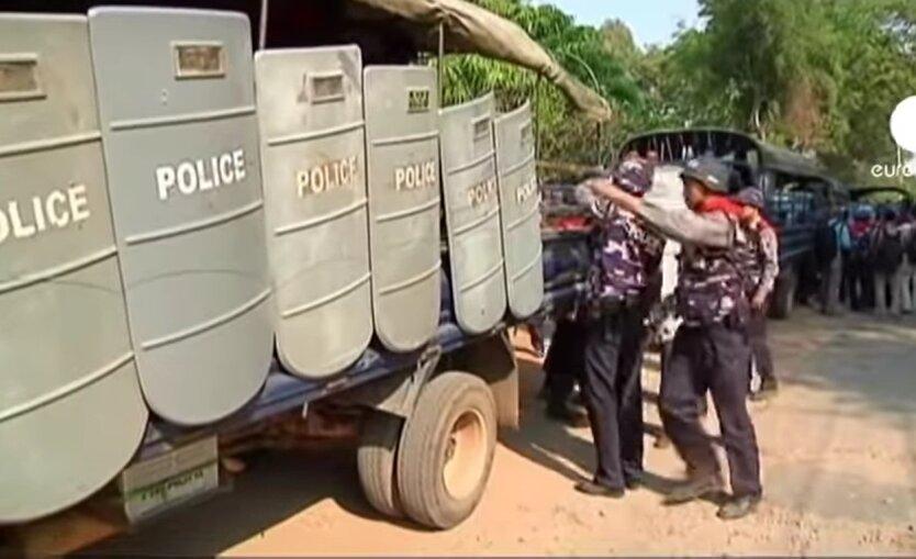 Мьянма, чрезвычайное положение, захват власти