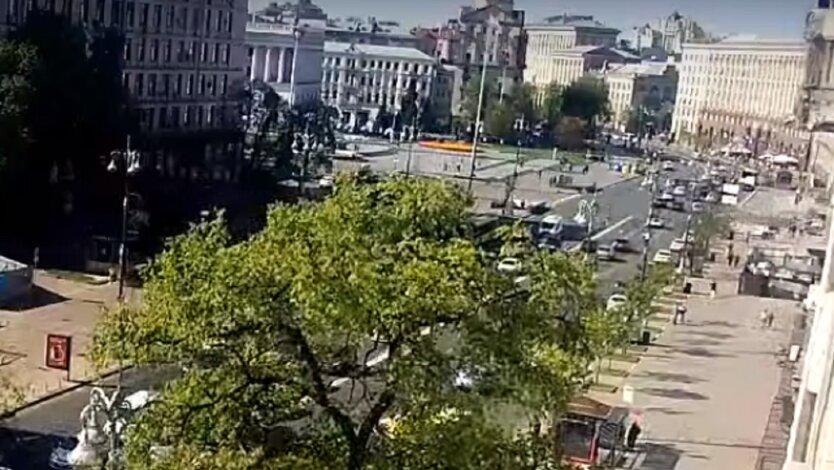 В столице ограничили проезд машинам