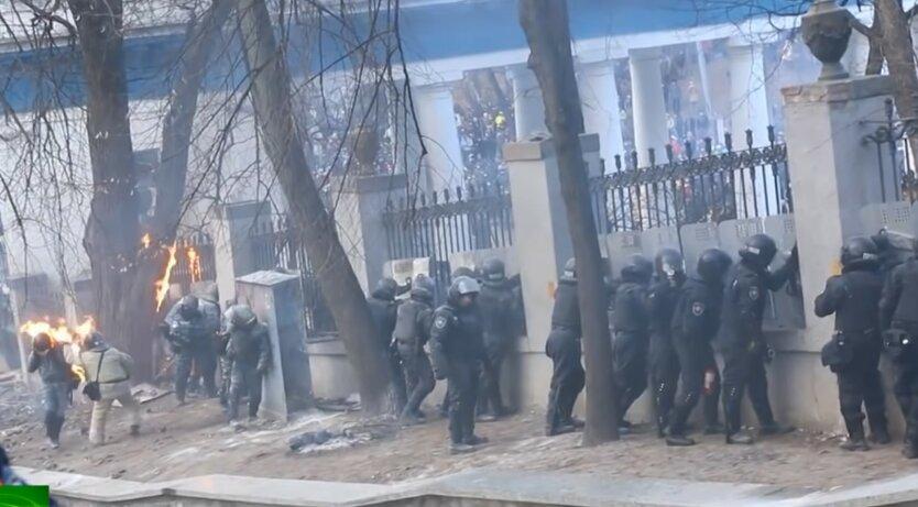 Столкновения на Майдане, задержан экс-сотрудник МВД, подозреваемый в причастности к убийствам
