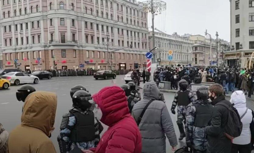 Протесты в поддержку Навального
