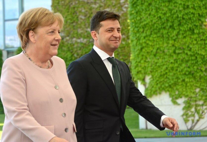 Зеленский_Меркель