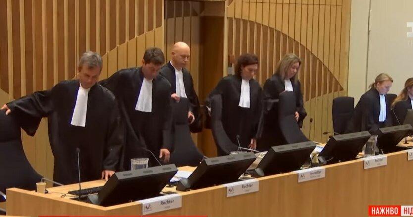 Суд в Нидерландах, крушение МН17, доказательства против России