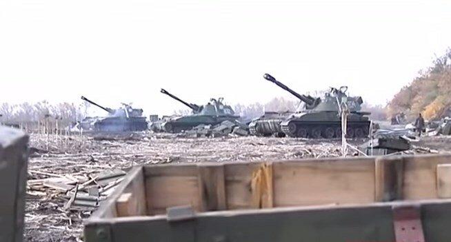 артиллерия аэропорт донецк