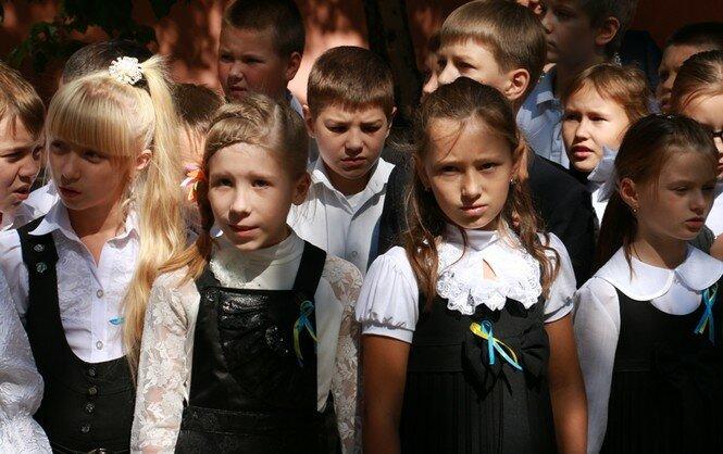 дети славянск школьники