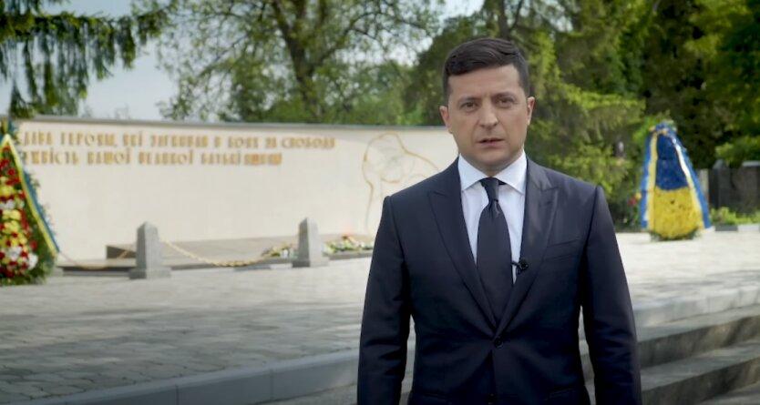 Владимир Зеленский, Владимир Путин, День Победы