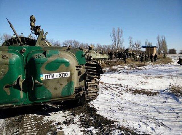 Выход ВСУ из Дебальцево