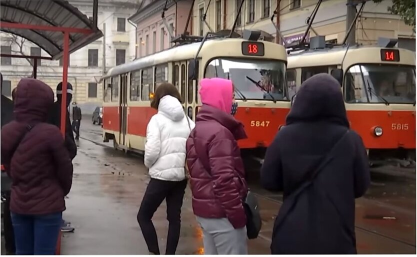 Усиление карантина в Украине, Карантин в Киевской области, Транспорт в карантин