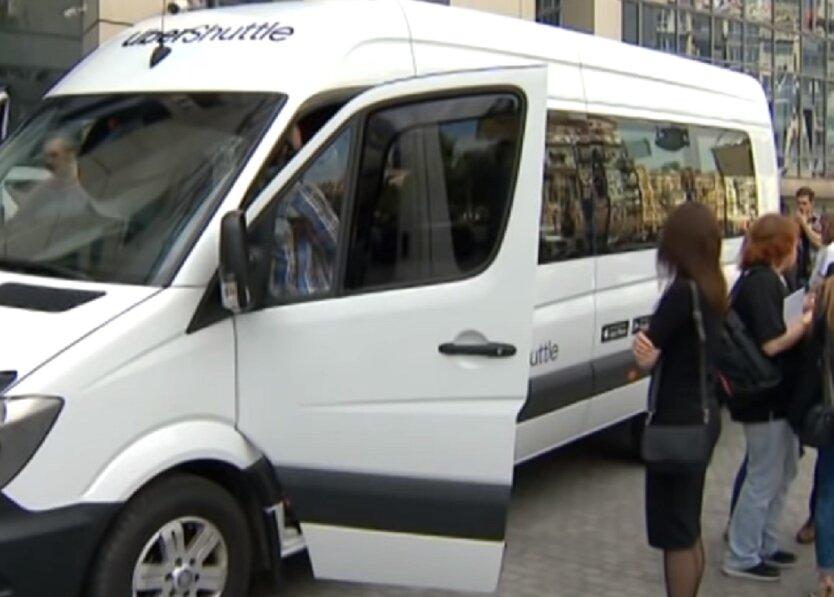 Uber Shuttle в Киеве