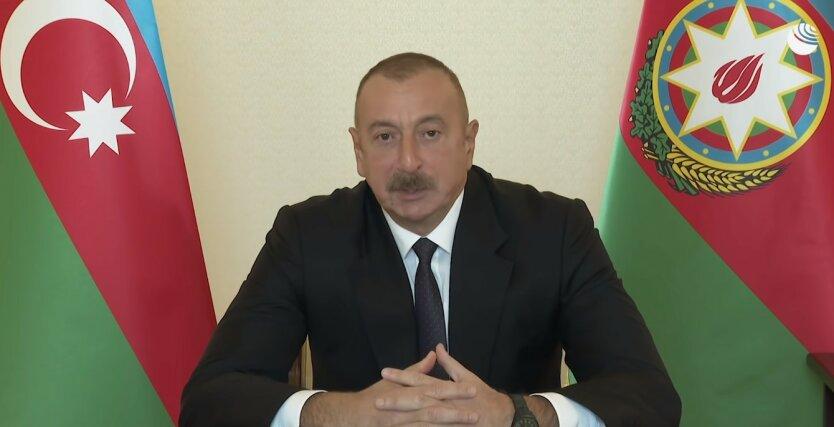 Война в Нагорном Карабахе,Армяно-азербайджанский конфликт,Ильхам Алиев
