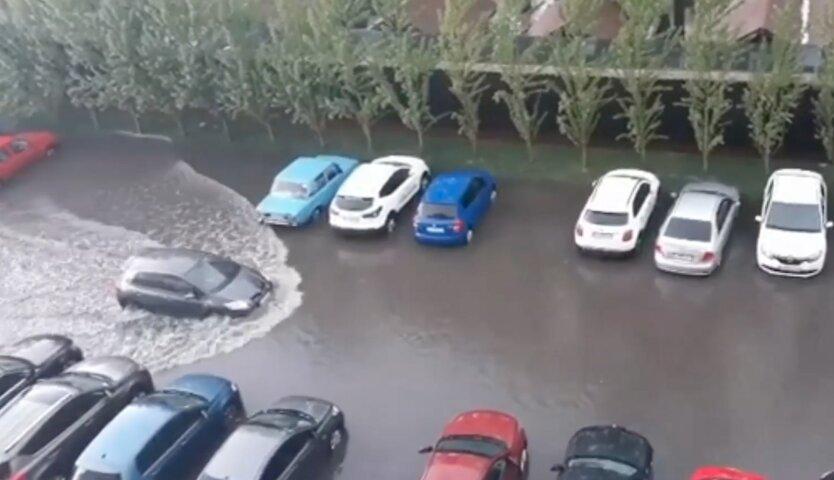 Погода в Украине, ливень, град, погода на неделю