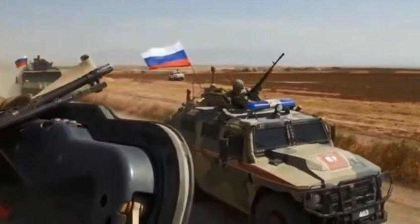 Россияне протаранили в Сирии американский патруль