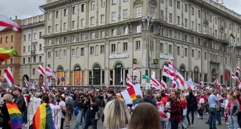 Марш Единства в Беларуси,Протесты в Беларуси,жестокие задержания в Беларуси