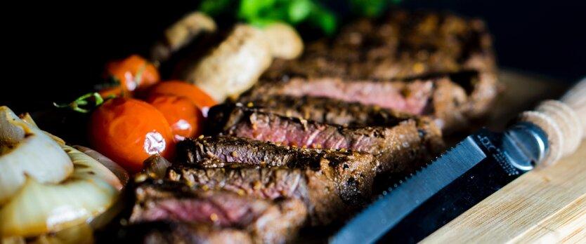 еда мясо 3д