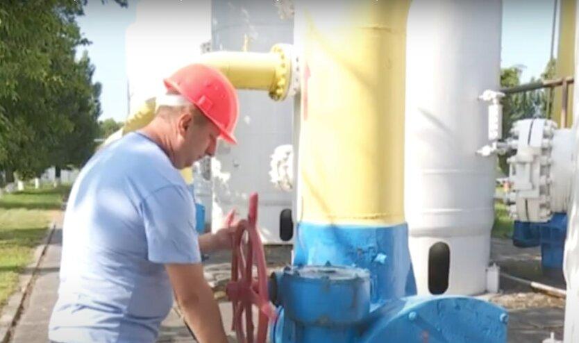 Запасы природного газа в Украине, пхг украина