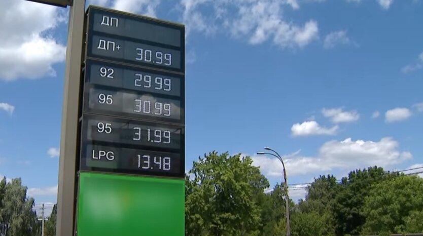 АЗС, Украина, бензин, автогаз