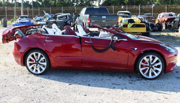 Tesla ДТП