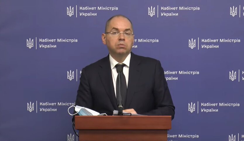 Максим Степанов, Минздрав, коронавирус в Украине