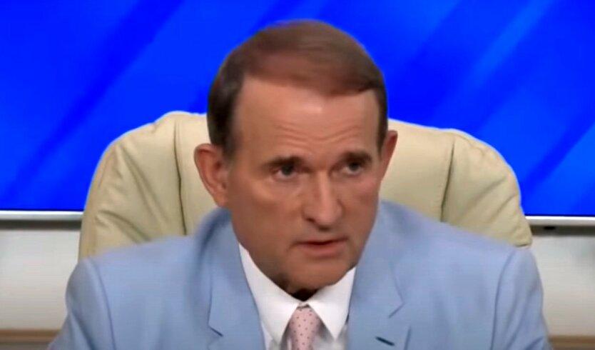 Медведчук пожаловался на Зеленского пропагандистам Путина