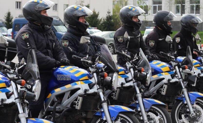 Полицейский мотопатруль, Киев