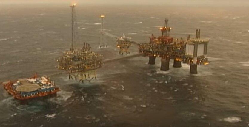 добыча нефти, добыча нефти в Норвегии