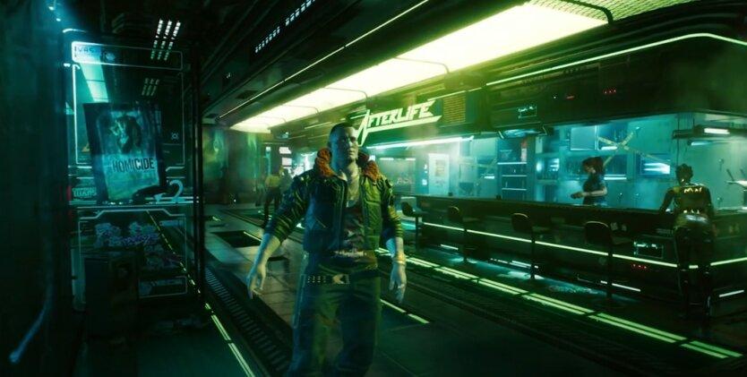 Компьютерная игра, Cyberpunk 2077, Sony