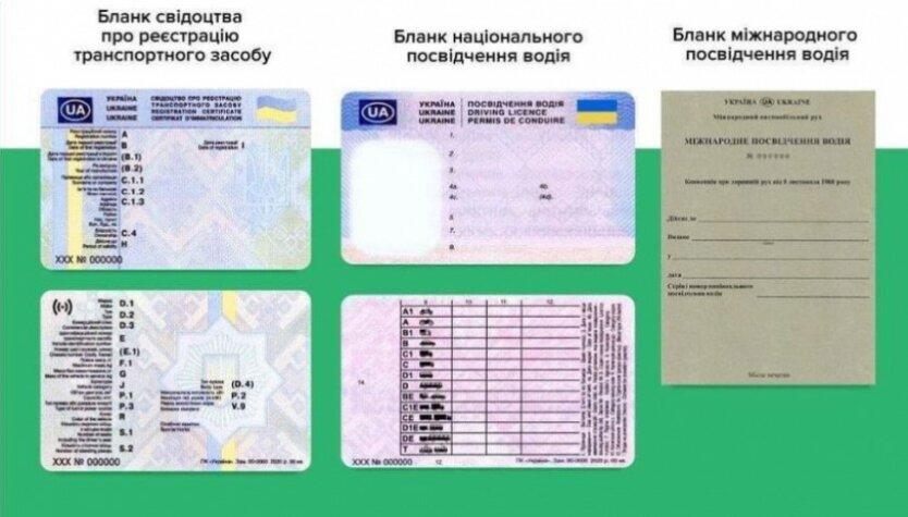 Новые водительские права,Новый техпаспорт,Автомобили в Украине