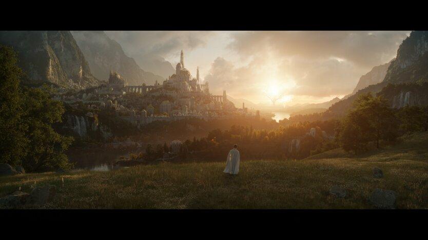 Кадр из сериала Властелин Колец