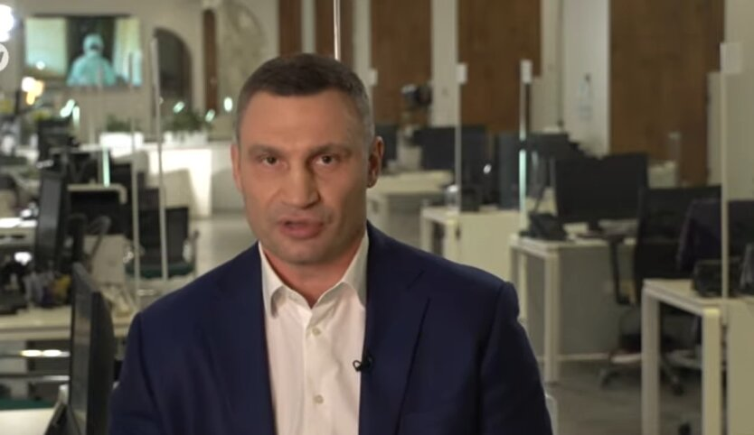 мэр Киева, Виталий Кличко, коронавирус