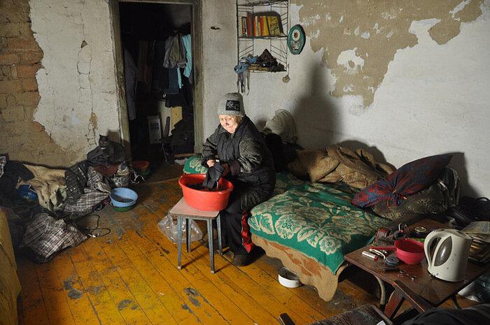 бедность в России пенсионер