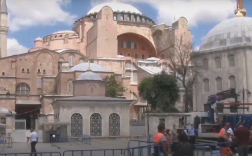Эрдоган превратил собор Святой Софии в мечеть