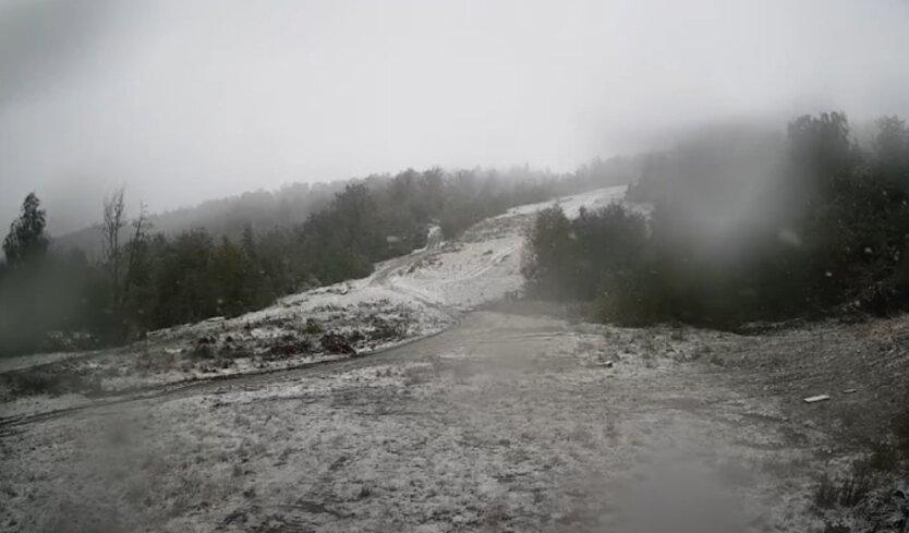 Снег, Карпаты, заморозки
