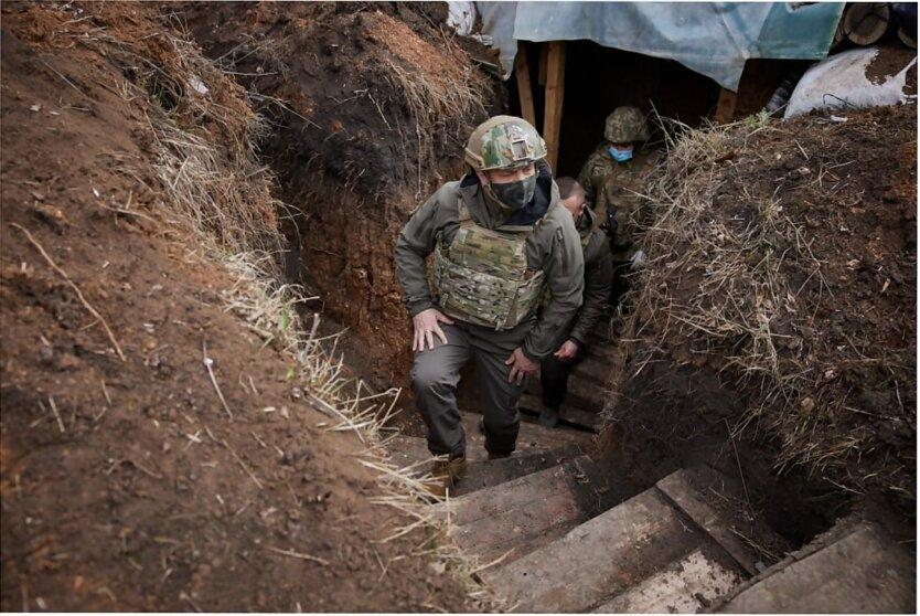 Владимир Зеленский, Война на Донбассе, Конфликт Украины и России