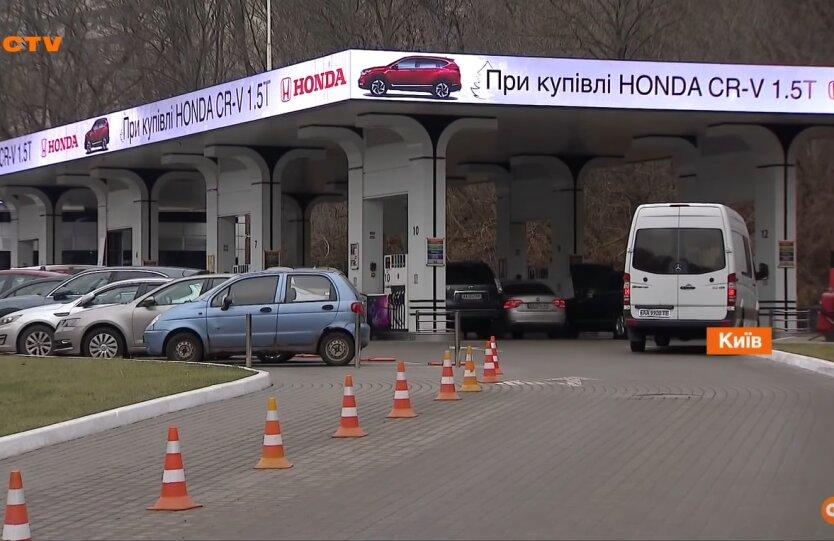 Бензин в Украине, дизельное топливо, автогаз