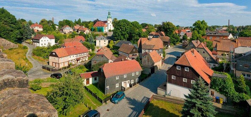 Село в Германии