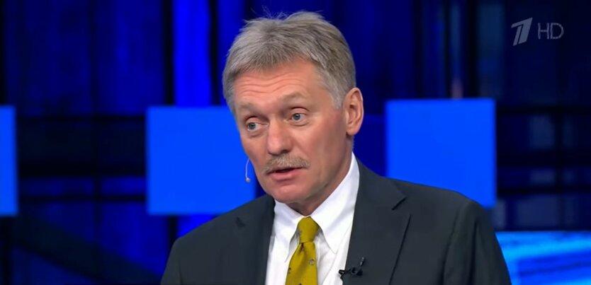 Дмитрий Песков, война на Донбассе. напряжение у границ Украины и России выше нормы