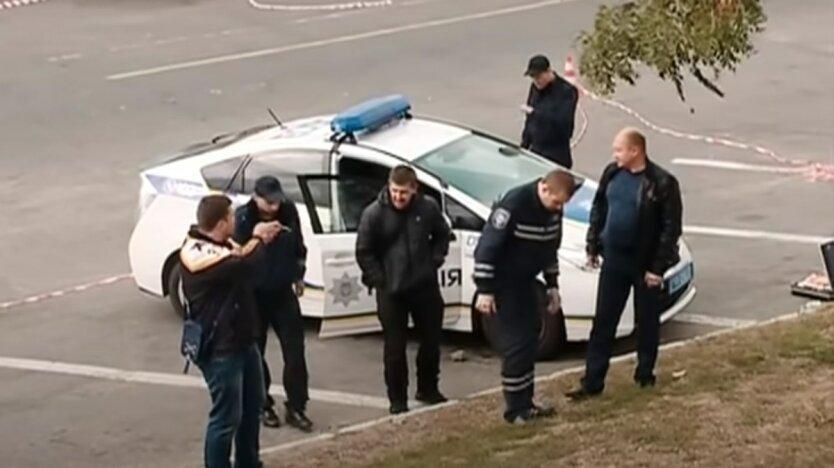 Убийство сотрудницы посольства США в Украине,Нацполиция Киева