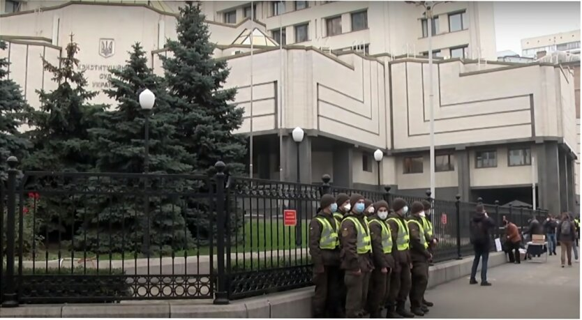 Конституционный суд Украины, Национальное агентство по вопросам предотвращения коррупции
