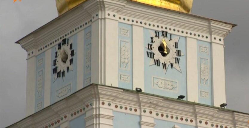 Перевод часов, Украина, зимнее время