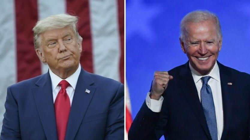 Дональд Трамп, Джо Байден, выборы в сша
