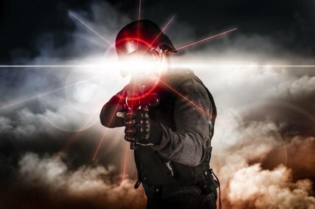 Лазерное оружие американского спецназа